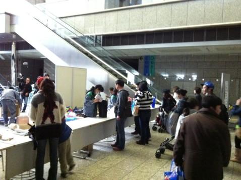 支援物資 - 東京都庁編。14