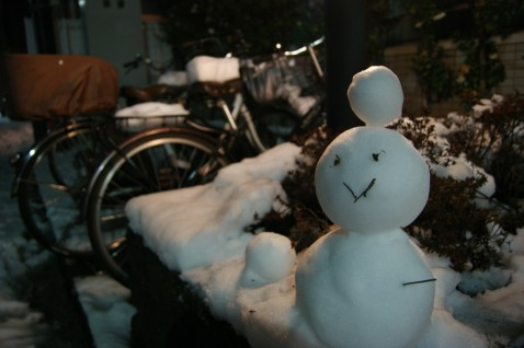 新宿散歩 - 大雪編|gonosen
