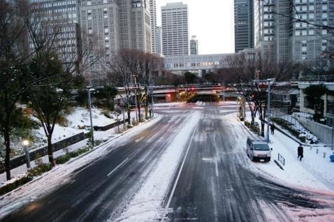 新宿中央公園から西新宿副都心